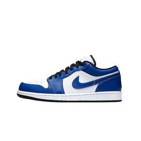 """预售!Nike Air Jordan 1 Low """"Game Royal"""" 小风暴蓝 女款篮球鞋 553560-124(2020.8.10发售)"""