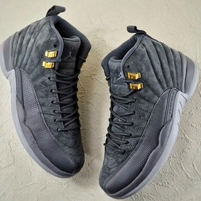 预售!Air Jordan 12 Dark Grey AJ12 酷灰 篮球鞋 130690-005 153265-005