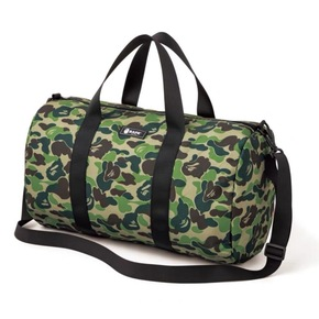 BAPE 2020ss杂志绿迷彩桶包旅行包