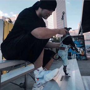 好价!Nike x off white Hyperdunk 2017 联名篮球鞋