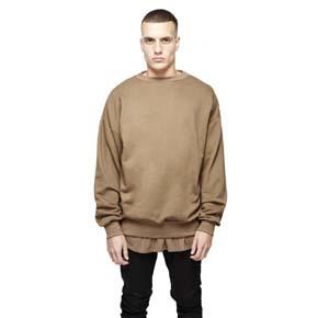 JOESPIRIT oversize hoodies 落肩特殊毛圈质感做旧百搭卫衫H903
