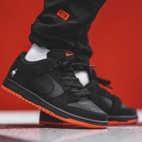 少量现货!Nike SB Dunk Low Pigeon Black 黑鸽子联名低帮板鞋 883232-008