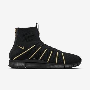 断码特惠!Nike Flyknit Mercurial 黑金吕布 834906-007