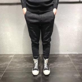 JOESPIRIT保暖加绒裤型极佳束腿裤 9818