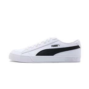 PUMA/彪马 SMASH V2 VULC 2代 黑白皮质休闲鞋低帮板鞋 367308-02