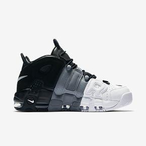 "Nike Air More Uptempo ""Tri-Color"" 黑白灰 皮蓬 大AIR 921948-002"