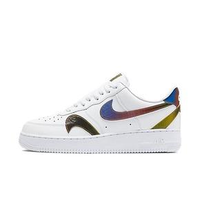 Nike Air Force 1 AF1 错钩炫彩空军增高休闲鞋 CK7214-101