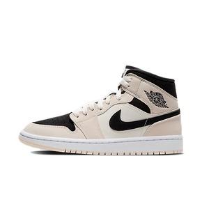 Air Jordan 1 mid AJ1 奶茶卡其 中帮篮球鞋 BQ6472-800