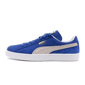 Puma Suede Classic蓝色麂皮休闲板鞋 352634-64