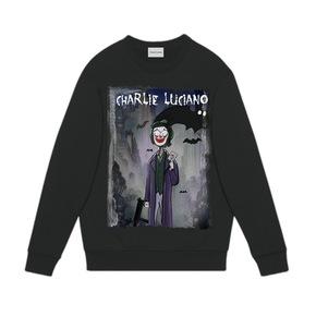 CHARLIE LUCIANO 小丑卫衣 黑