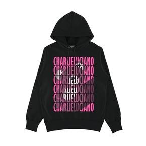 CHARLIE LUCIANO  字母熊帽衫黑