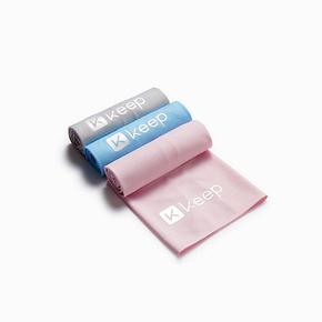Keep纯色便携吸汗降温运动健身常备冰感训练运动巾