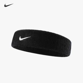 Nike耐克发带头带运动吸汗导汗带女瑜伽头巾束发跑步健身男止汗带