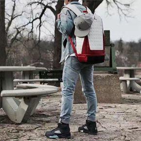Air Jordan 13 芝加哥 白红 双肩背包 9A1898-001