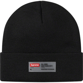 Supreme 20ss clear label beanie