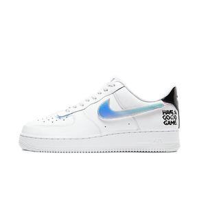 王源同款  Nike Air Force 1 AF1 白镭射 换钩 低帮板鞋 DC0710-191
