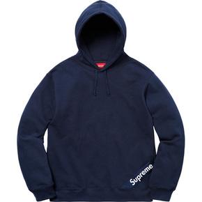 Supreme 18ss Corner Label hooded