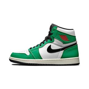"""预售!Air Jordan 1 High OG WMNS """"Lucky Green"""" 白绿 女鞋 DB4612-300(2020.10.15发售)"""