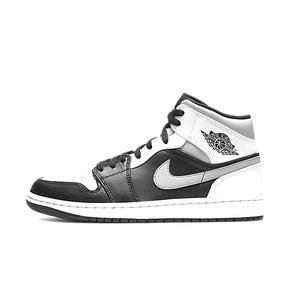 "预售!Air Jordan 1 Mid ""White Shadow"" 影子 灰白篮球鞋 554724-073"