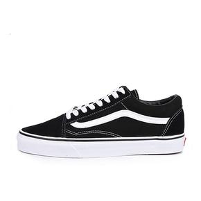 VANS经典款Old Skool黑白配色情侣帆布鞋滑板鞋VN000D3HY28
