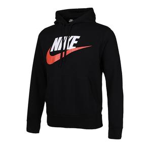 Nike Sportswear LOGO印花连帽套头卫衣 CZ9129-010