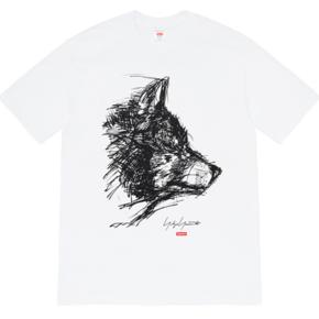 Supreme 20ss supreme/yohji yamamoto scribble wolf tee