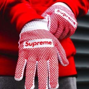 Supreme 18ss Grip Work Gloves