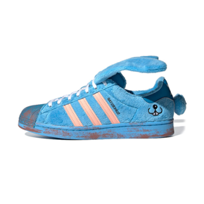 Melting Sadness x adidas Superstar 蓝兔子板鞋 FZ5253
