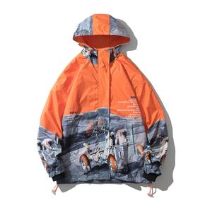 JOESPIRIT embrace nature 男士冲锋衣 防风 夹克外套 男士夹克 男士风衣 男士连帽夹克 JK201