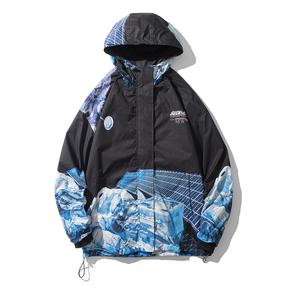 JOESPIRIT embrace nature 男士冲锋衣 防风 夹克外套 男士夹克 男士风衣 男士连帽夹克 JK206
