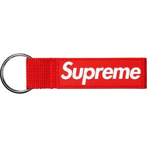Supreme 20ss webbing keychain
