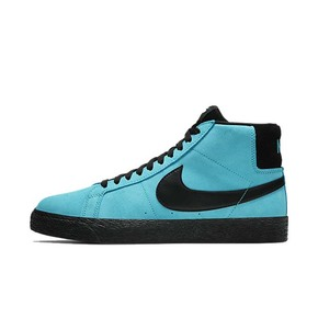 Nike SB Zoom Blazer Mid 黑蓝 开拓者 板鞋 864349-400