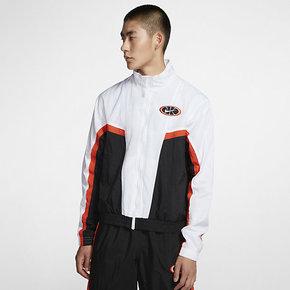 NIKE耐克跑步外套男装2020秋季新款拼接撞色运动夹克潮 AV9756-100