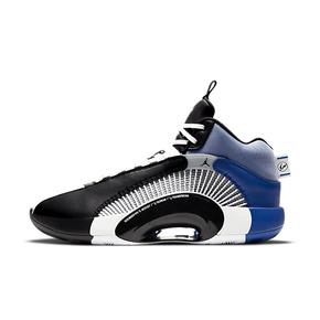"Fragment Design x Air Jordan 35 SP-FPF "" Base Grey""藤原浩 黑白蓝篮球鞋 DA2371-100"