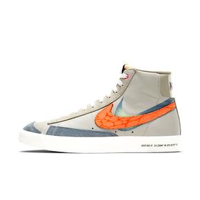 Nike Blazer Mid 77 VNTG 双钩灰蓝橙高帮板鞋 DC3278-280