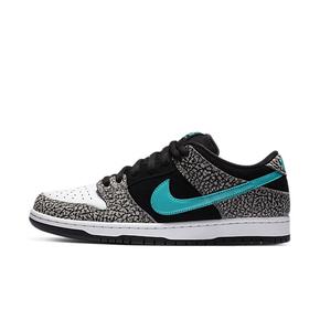 "王一博同款!Nike SB Dunk Low ""Clear Jade"" 大象 爆裂纹滑板鞋 BQ6817-009"