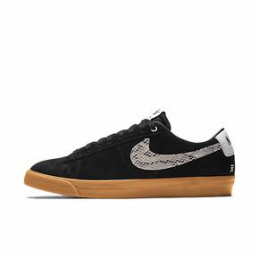 Nike SB Blazer x Wacko Maria联名蛇纹板鞋 DA7257-001