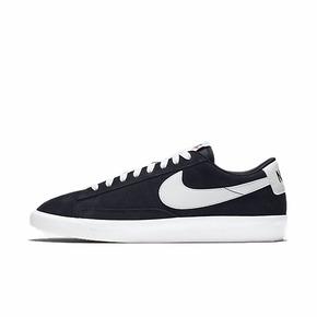 Nike Blazer Low 开拓者黑白复古低帮休闲板鞋 538402-004
