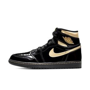 "Air Jordan 1 High OG ""Back Gold"" 2020年版黑金 篮球鞋 555088-032"