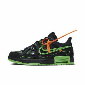 Nike Air Rubber Dunk ow联名 黑绿 美洲限定 CU6015-001