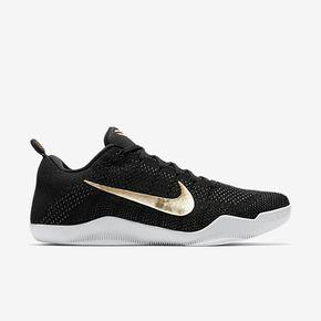 "断码特惠!Nike Kobe 11 Elite ""GCR"" 黑金 885869-070"