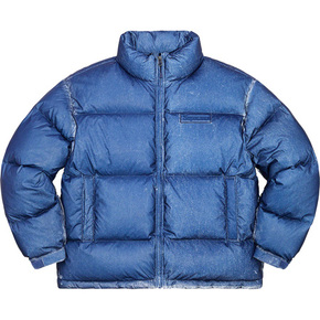 Supreme 20fw reflective speckled down jacket