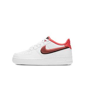 Nike Air Force1 AF1 红黑双钩板鞋 CW1574-101