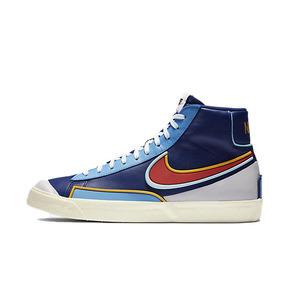 Nike Blazer Mid 77 皇家蓝 白蓝黄钩 板鞋 DA7233-400