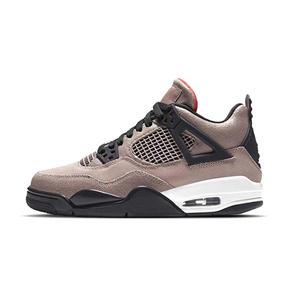 """预售!Air Jordan 4 """"Taupe Haze"""" AJ4 黑棕摩卡 麂皮篮球鞋 DB0732-200(2021.2.27发售)"""