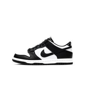 "Nike Dunk Low ""black""(GS) 黑白熊猫 休闲板鞋 CW1590-100"