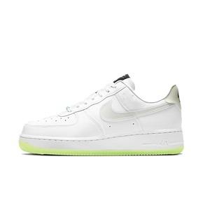 Nike Air Force 1 AF1 白绿夜光荧光笑脸空军 CT3228-100
