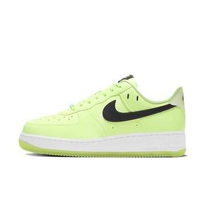Nike Air Force 1 AF1 黑绿荧光夜光空军板鞋 CT3228-701