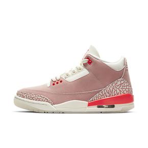 """预售! Air Jordan 3 WMNS """"Rust Pink""""樱花粉 爆裂纹 CK9246-600(2021.5.28发售)"""