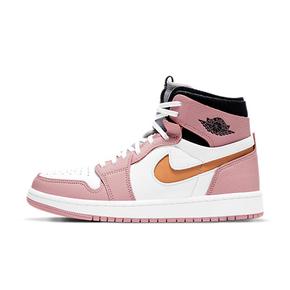 预售!Air Jordan 1 Zoom Air CMFT 情人节樱花粉 女款篮球鞋 CT0979-601(2021.2.1发售)